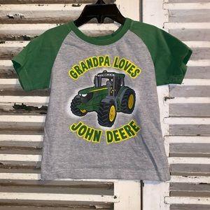 John Deere Tractor Short Sleeve Shirt